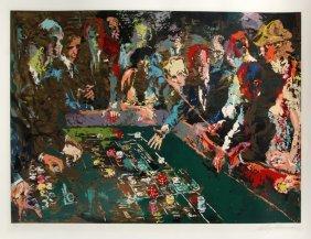 249: LeRoy Neiman, Vegas Craps, Serigraph