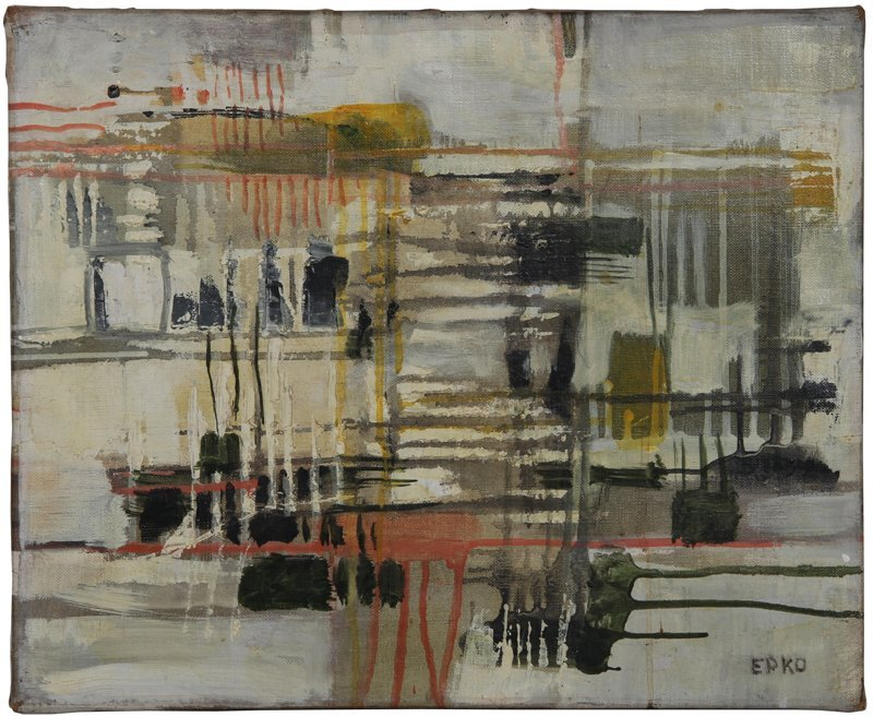 100: Willering Epko, Untitled, Oil Painting