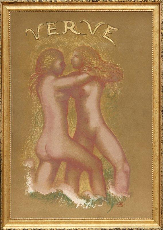 Aristide Maillol, Verve (cover) from Verve Vol. II Maga
