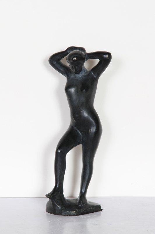 Aristide Maillol, Standing Nude, Bronze Sculpture