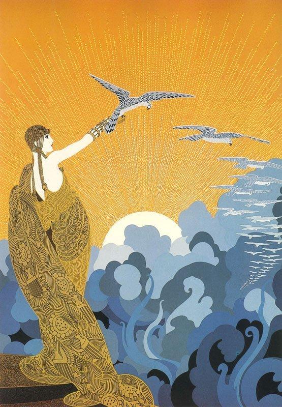 Erte, Wings of Victory, Serigraph