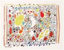 Pablo Picasso, Le Picador II, Lithograph