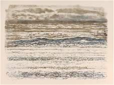 Georges Schreiber, La Mer, Lithograph