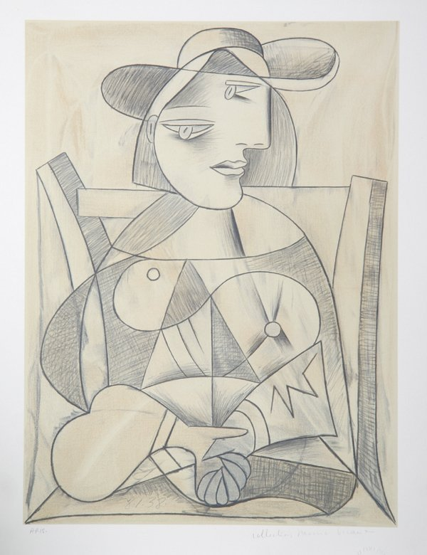 Pablo Picasso, Femme aux Mains Jointes (Marie-Therese),