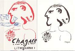 Marc Chagall Lithographe Volumes IIV  Les Affiches J