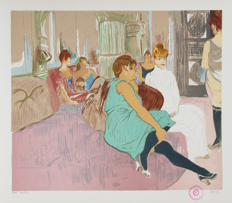 Laurent Marcel Salinas, Salon After Toulouse-Lautrec, L