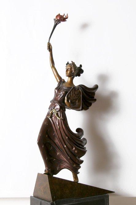 Erte, Liberte, Bronze Sculpture