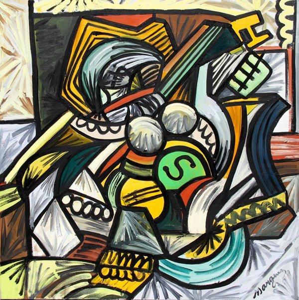 Truman Marquez, Oil Painting