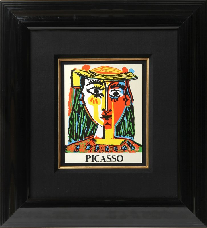 Pablo Picasso, Graphic Exhibition, Lithograph Poster