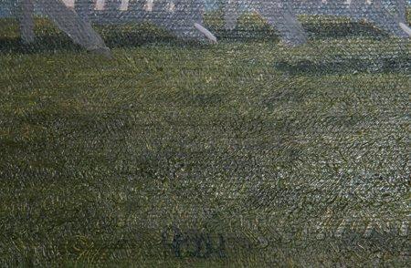 John Joseph Reboli, Front Row, Oil Painting - 2