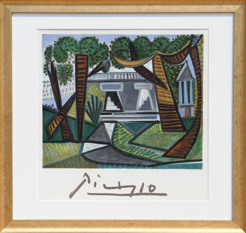 Pablo Picasso, Le Verte Galant, Lithograph