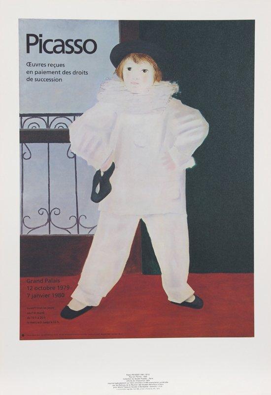 Pablo Picasso, Paul en Pierrot, Lithograph