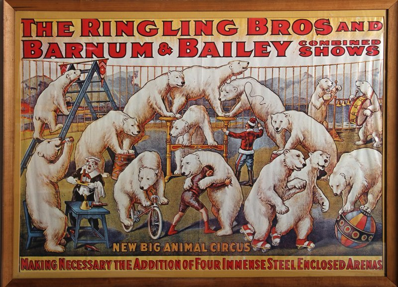 The Ringling Bros. and Barnum and Bailey Circus, Poster