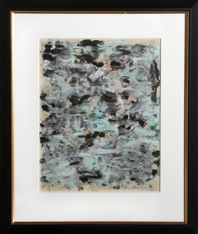 Domenick Turturro, Abstract 2, Watercolor Painting