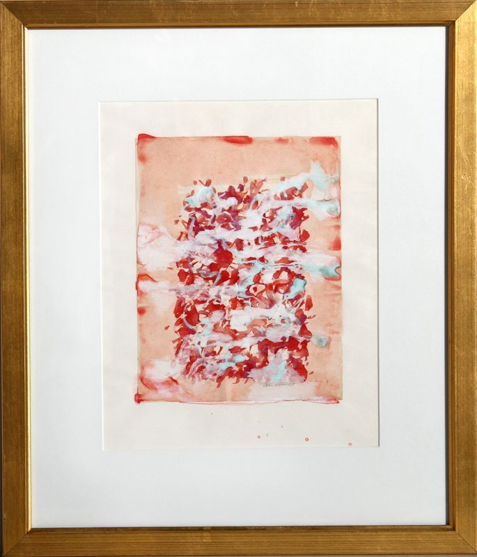 Domenick Turturro, Abstract 3, Watercolor Painting