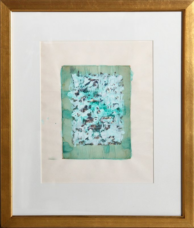 Domenick Turturro, Abstract 4, Watercolor Painting