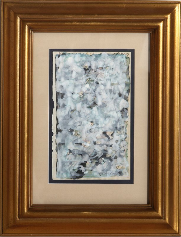 Domenick Turturro, Abstract 5, Watercolor Painting