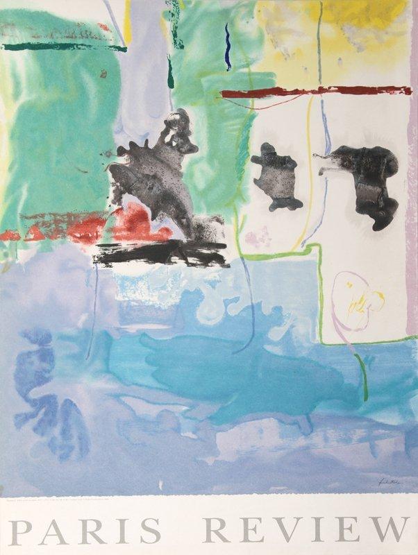 Helen Frankenthaler, Paris Review Westwind, Offset Lith
