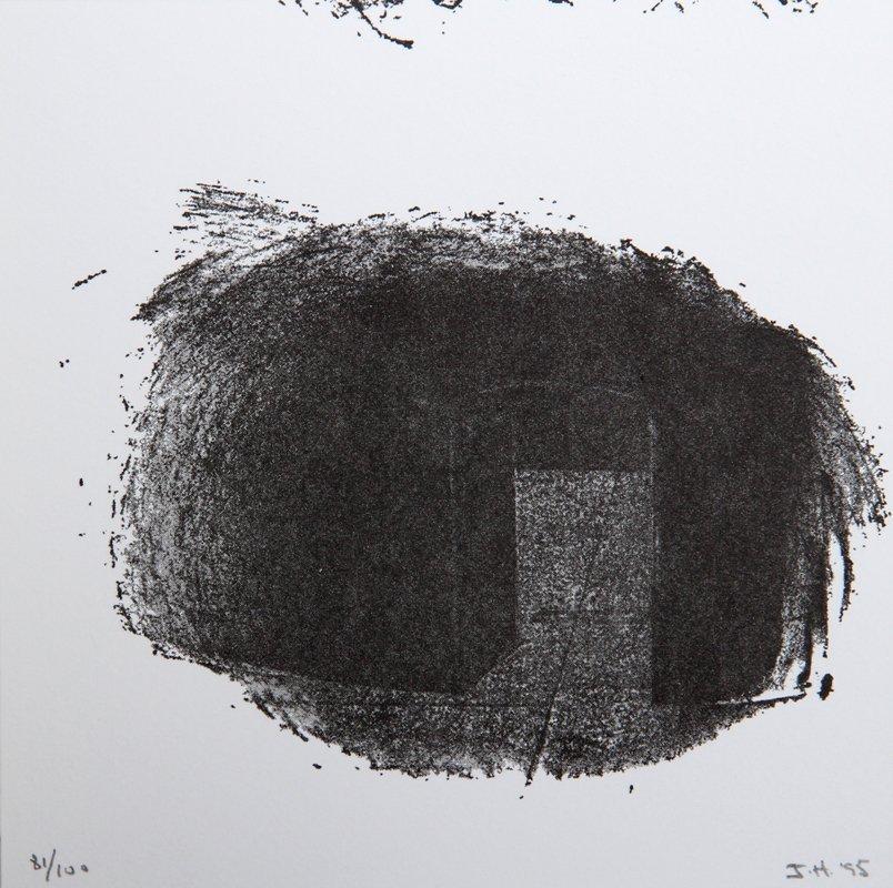Jene Highstein, Sculpture Center Portfolio Printed Lett