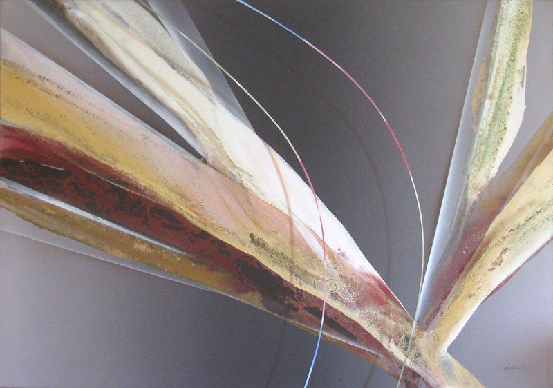 Elba Alvarez, Abstract Painting