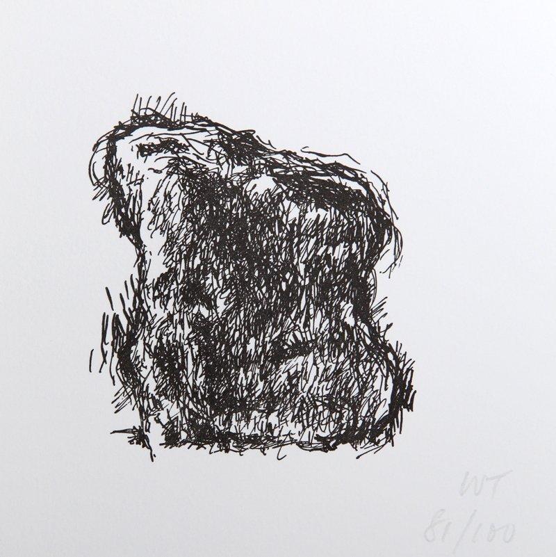 William Tucker, Sculpture Center Portfolio Printed Lett