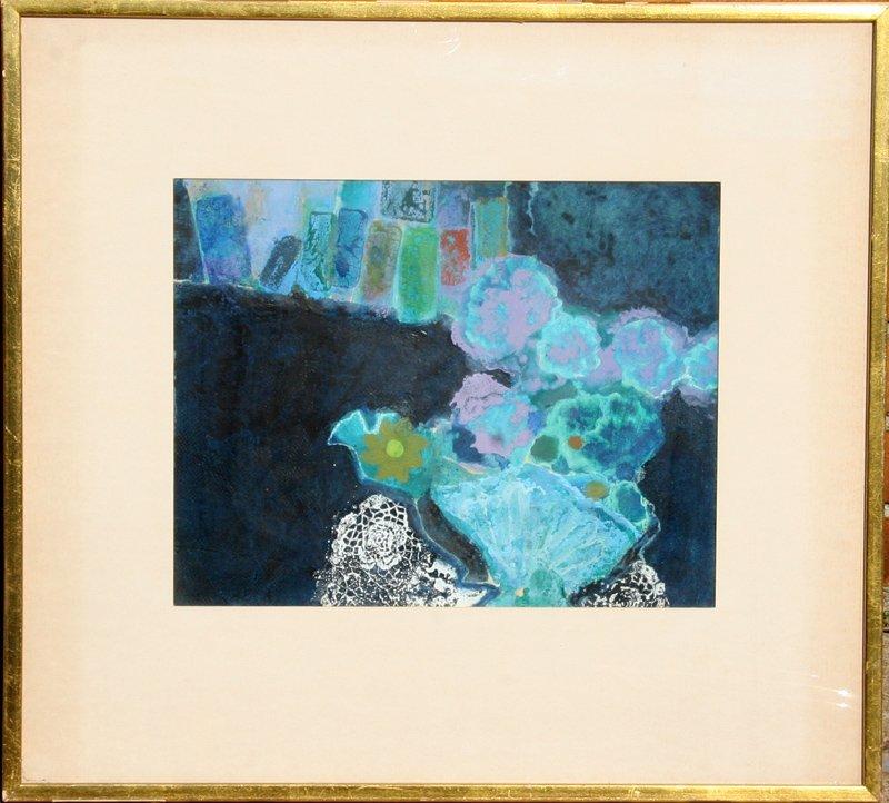 Lou Fink, Stillpoint, Watercolor Painting