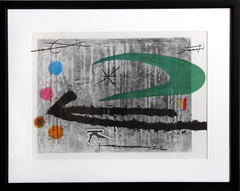 Joan Miro, Toward The Left, Offset Lithograph