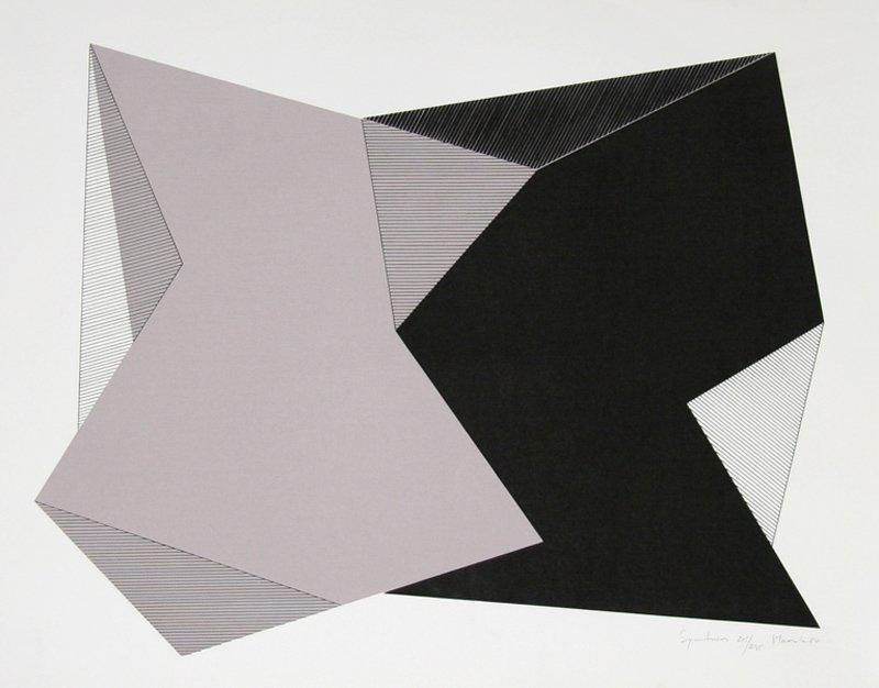 Jean-Marie Haessle, Symmetries, Serigraph