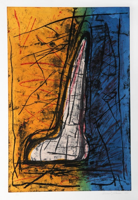 Richard Fishman, Untitled, Etching