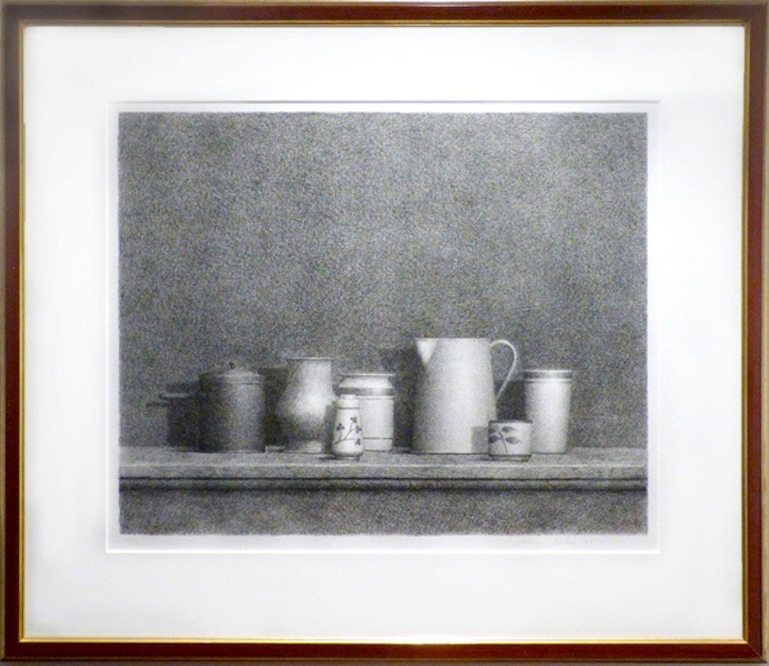 William Bailey, Still Life No. 5, Lithograph