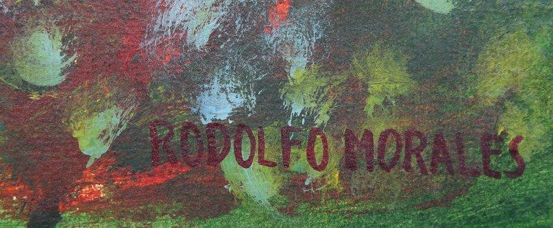 Rodolfo Morales, Tres Cabezas, Oil Painting - 2