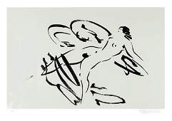 Reuben Nakian Leda and the Swan  4 Etching with