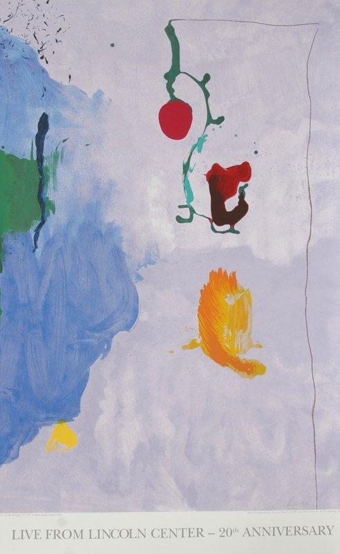 Helen Frankenthaler, Live from Lincoln Center, 20th