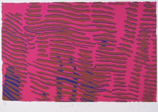 Lloyd Fertig, Ocean Night, Silkscreen