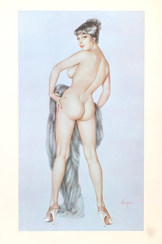 Alberto Vargas, Playboy, May 1961, Collotype Poster