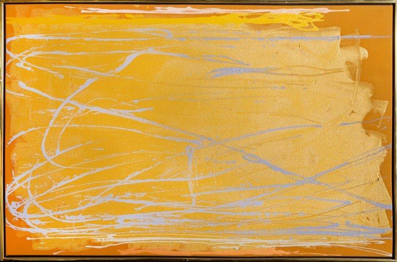 Dan Christensen, War Woman, Oil Painting
