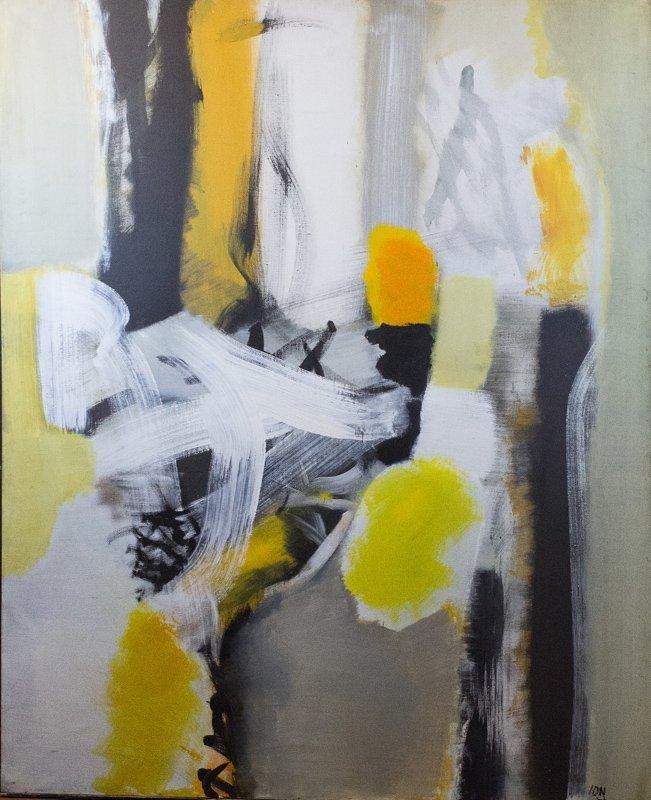 Ion Salisteanu, Thermodinamique, Oil Painting