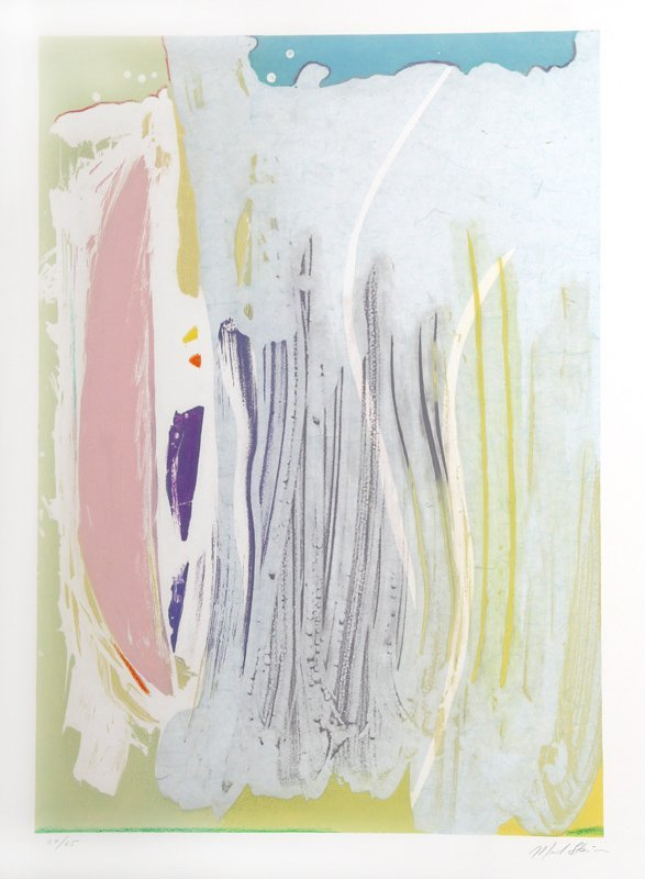 Michael Steiner, Abstract Serigraph