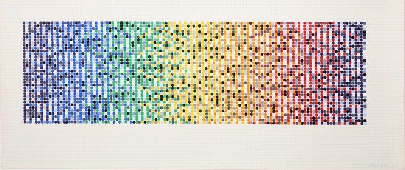 David Roth, Geometric 29, Acrylic Painting