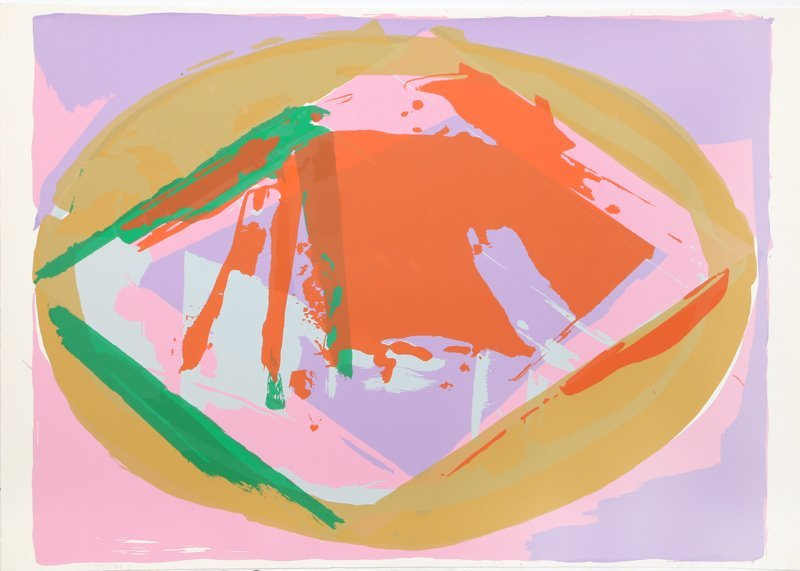 Darryl Hughto, Warm Hearth, Silkscreen