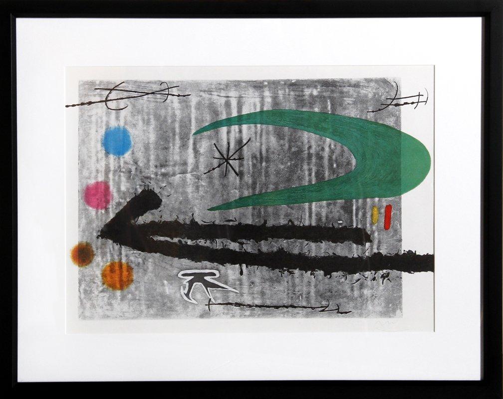 Joan Miro, Vers la Gauche, Offset Lithograph