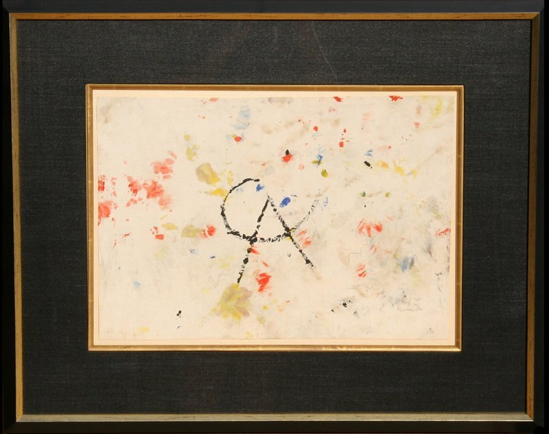 Alexander Calder, Abstract Nosewiper Painted