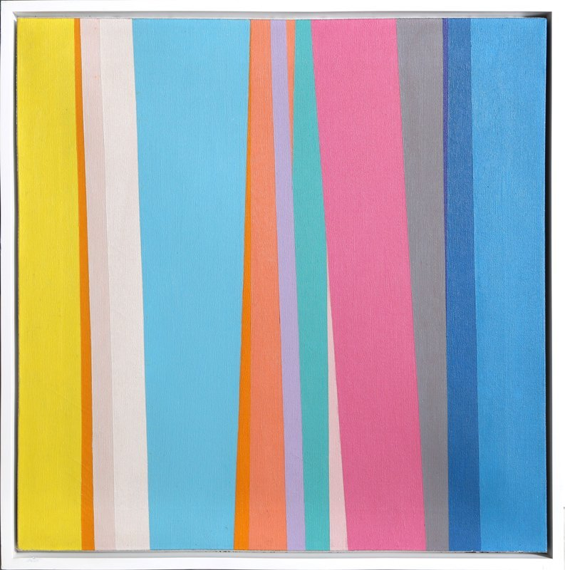 Jay Rosenblum, Gradus ad Parnassum, Oil Painting