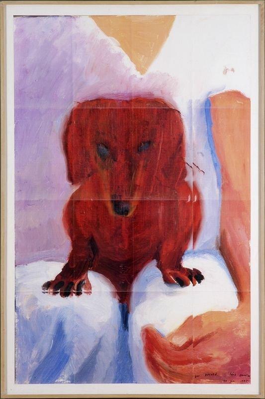 David Hockney, Portrait of Stanley, 16 piece Photocopy