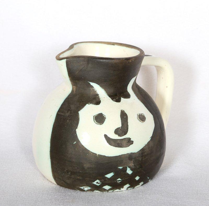 Pablo Picasso, Tetes (Ramie 367), Turned Ceramic