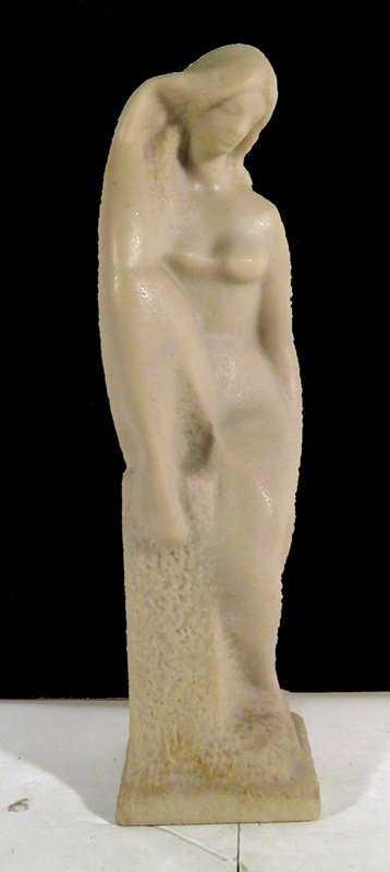 V Glinsky Nude Epoxy Resin Sculpture