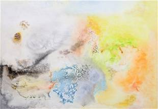 Mel Powell, Untitled 1, Watercolor Painting