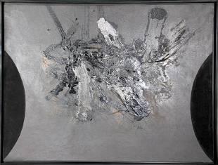 Joan-Josep Tharrats, Horus, Oil Painting