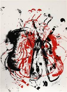 Arman, Violents Violin I, Serigraph