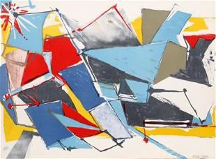 Jasha Green, Abstract 10, Lithograph